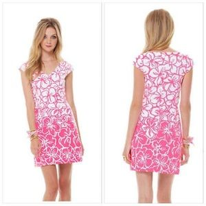 Lilly Pulitzer Desiree Cap Sleeve Sheath Dress!